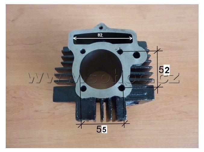Válec motoru pitbike dirtbike ATV 140ccm/55píst
