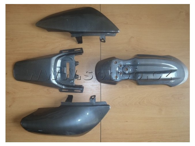 Sada plastů na pitbike, dirtbike - CRF 50 Carbon