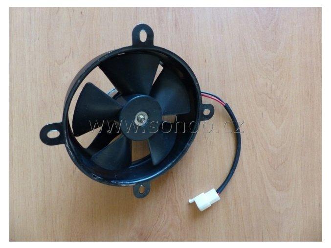 Větrák chladiče na ATV - kovový