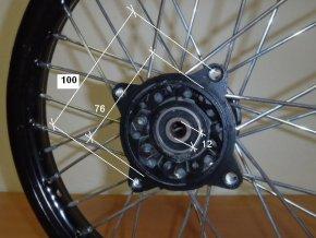 Ráfek přední na pitbike, dirtbike - kolo 17´´ Typ2