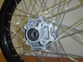 Ráfek zadní na pitbike, dirtbike - kolo 12´´ Typ2
