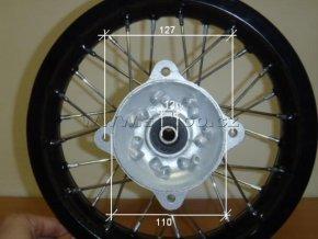 Ráfek zadní na pitbike, dirtbike - kolo 12´´ Typ4