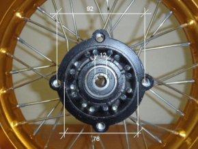 Ráfek zadní na pitbike, dirtbike - kolo 12´´ Typ7