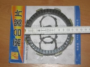 Spojková lamela pitbike dirtbike ATV - 250ccm 5ks
