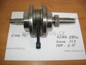 Kliková hřídel pitbike dirtbike ATV-klika 250cc T7
