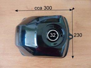 Palivová nádrž ATV- plechová univerzální