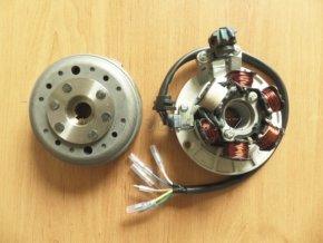 Rotor+stator zapalování pitbike ATV - Lifan 140cc