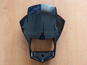 Přední maska na pitbike, dirtbike - pro světlo