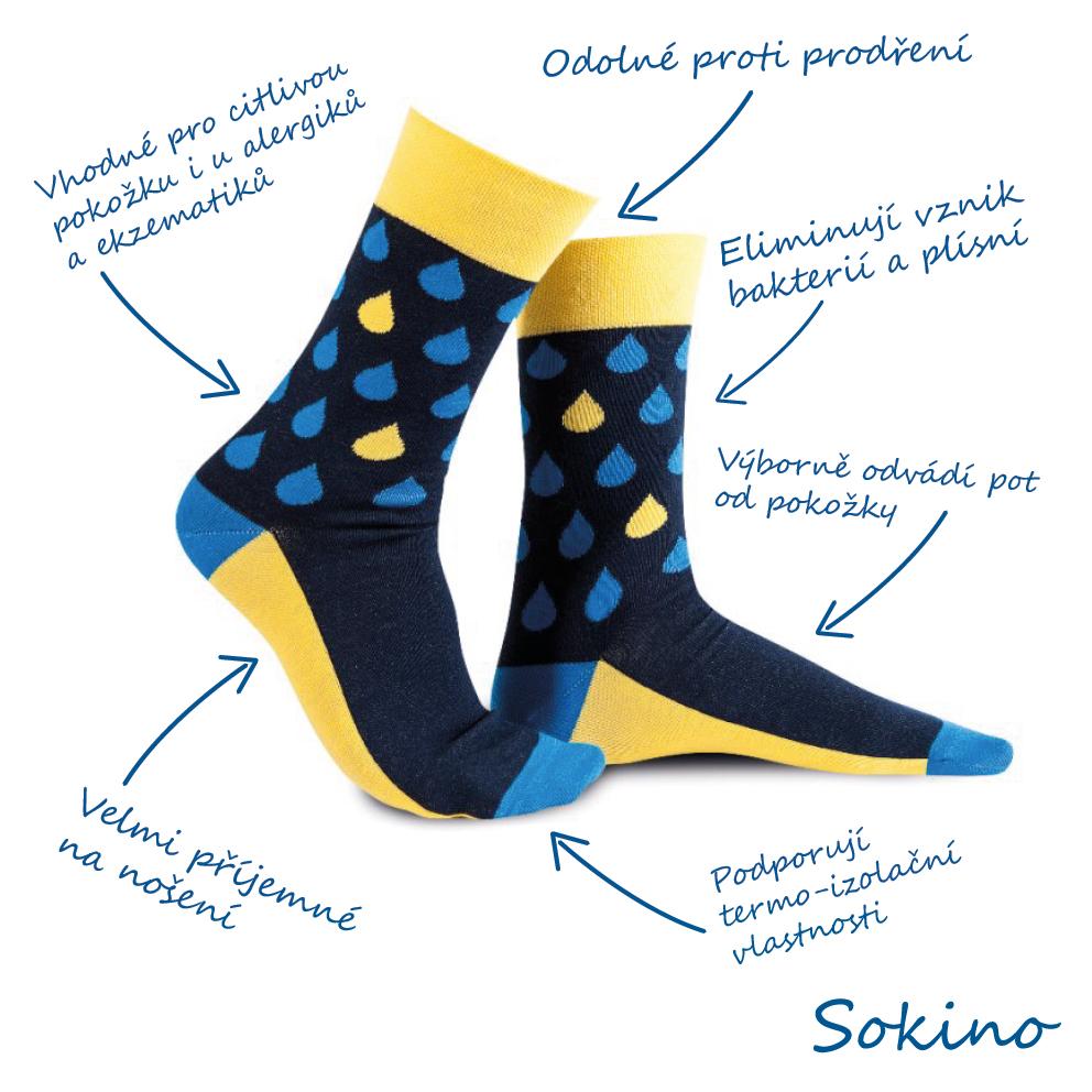 Jak vybrat ponožky podle materiálu? 3 + 1 tip od Sokino