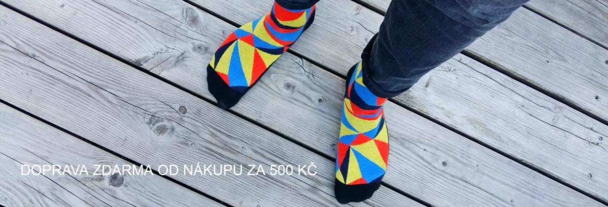 SOKINO barevné designové ponožky