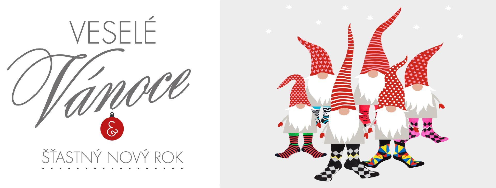 Veselé Vánoce a Šťasný Nový rok