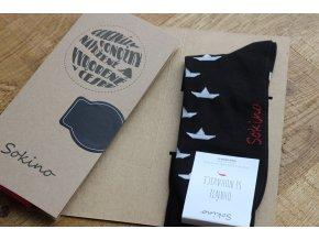 Ponožky - Loďka papírová