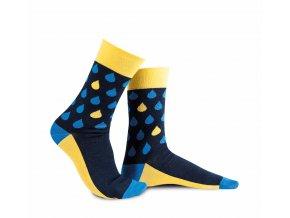 Ponožky - Déšť skandinávský