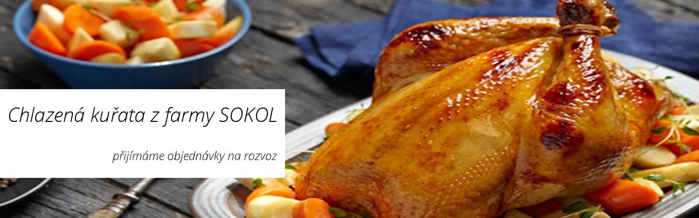 Chlazená kuřata z Farmy SOKOL