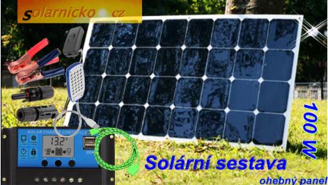 solární flexi panel