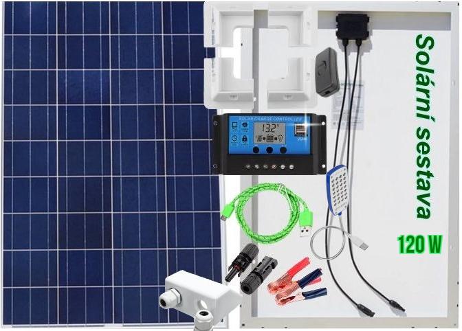 solární set 120W