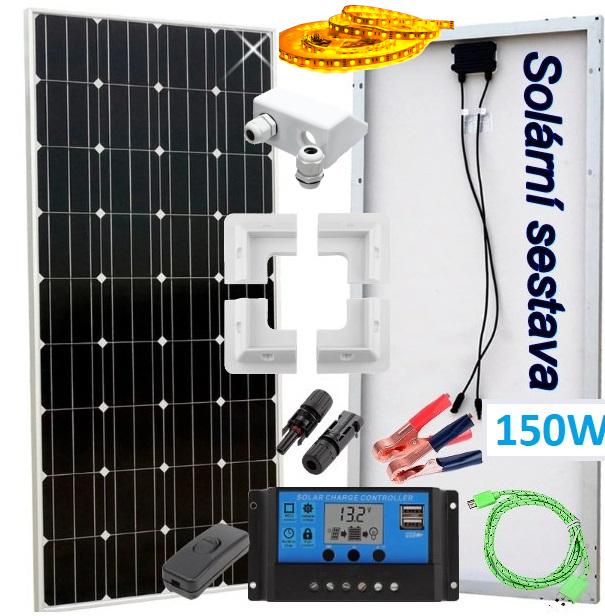 solární panel monokrystal