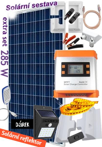 solární set na karavan