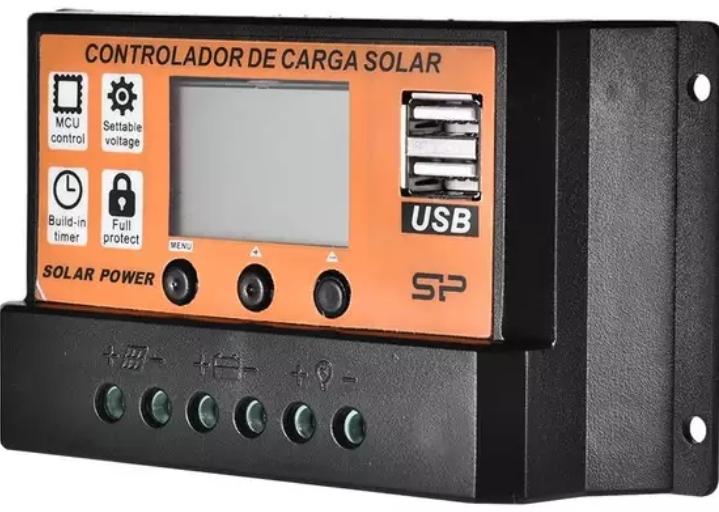 solární regulátor