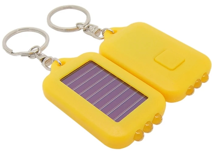 solární klíčenka
