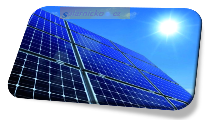 solární panel elektrárna