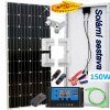 Solární ostrovní elektrárna 160W