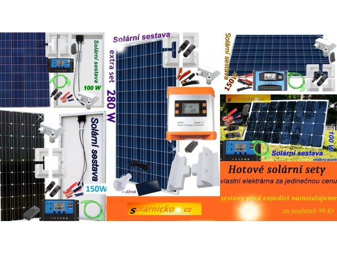 solární sestavy