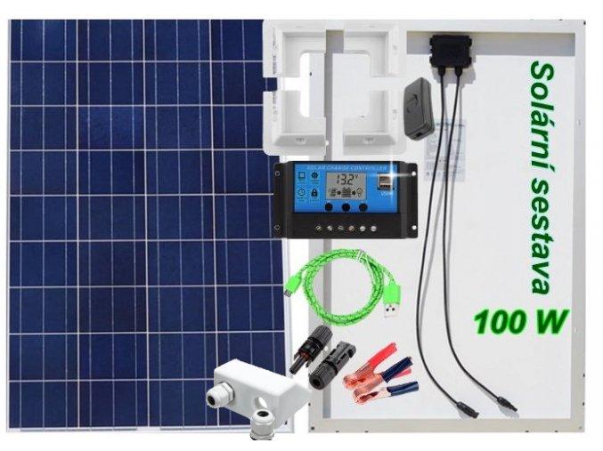 Solární ostrovní elektrárna
