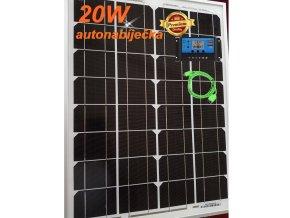 solární autonabíječka