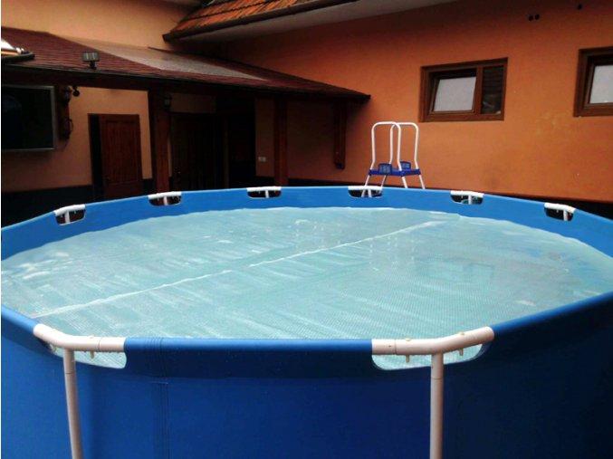 Solarni plachta Cornisun kruh na bazén 380 cm