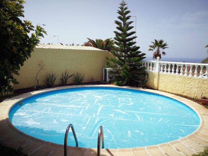 Solarni plachta Cornisun na bazén kruh 550 cm
