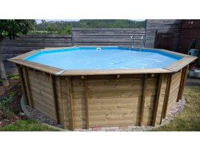 Solarni plachta Cornisun na bazén kruh 460 cm