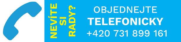 Objednávka telefonicky