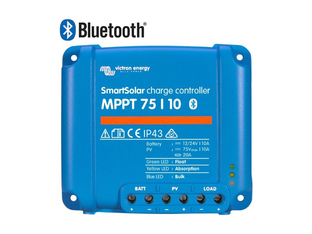 1196 mppt regulator victron energy 75 10 bluetooth