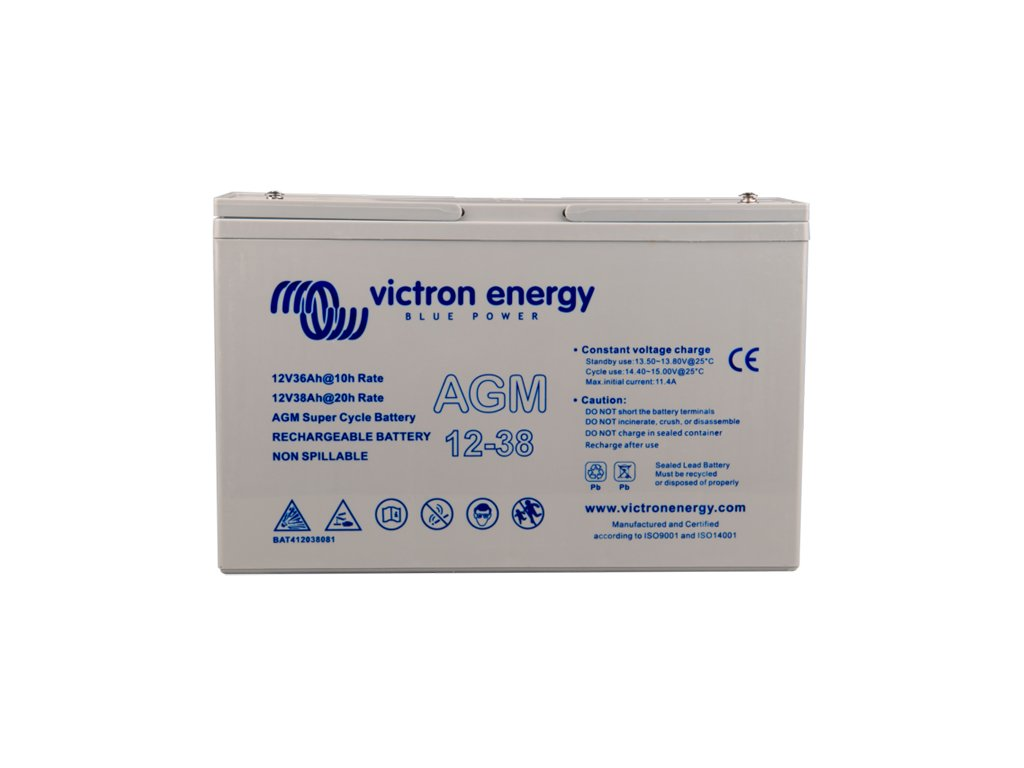 38Ah victron energy super cycle