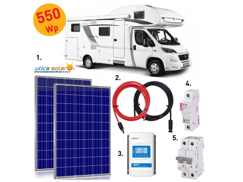 solarni system karavan 570 wp ulicasolar