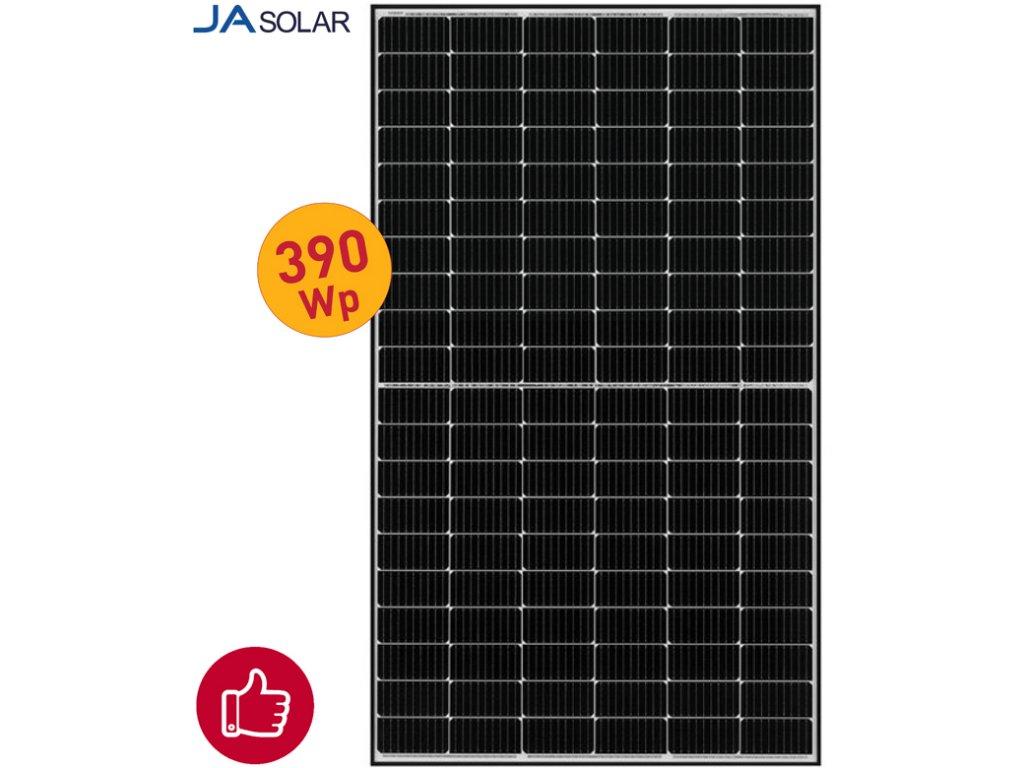 solarni panel ja solar 390wp black
