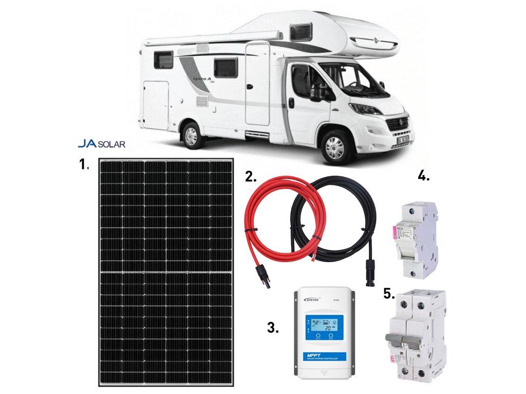 solarni sestava karavan 390 wp