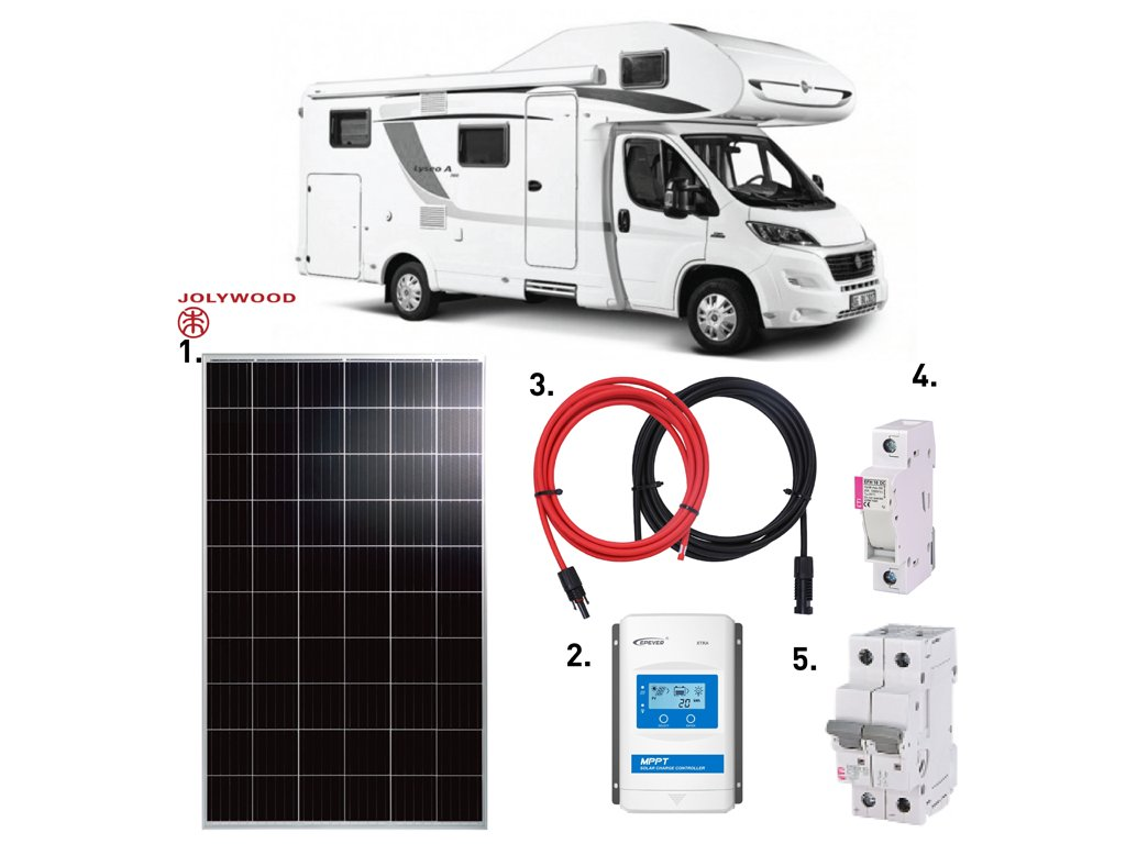 solarni system karavan 325 wp jolywood