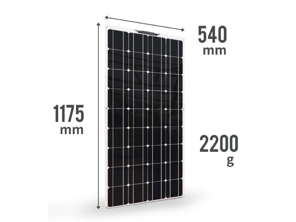 flexibilni solarni panel 100wp solarsun