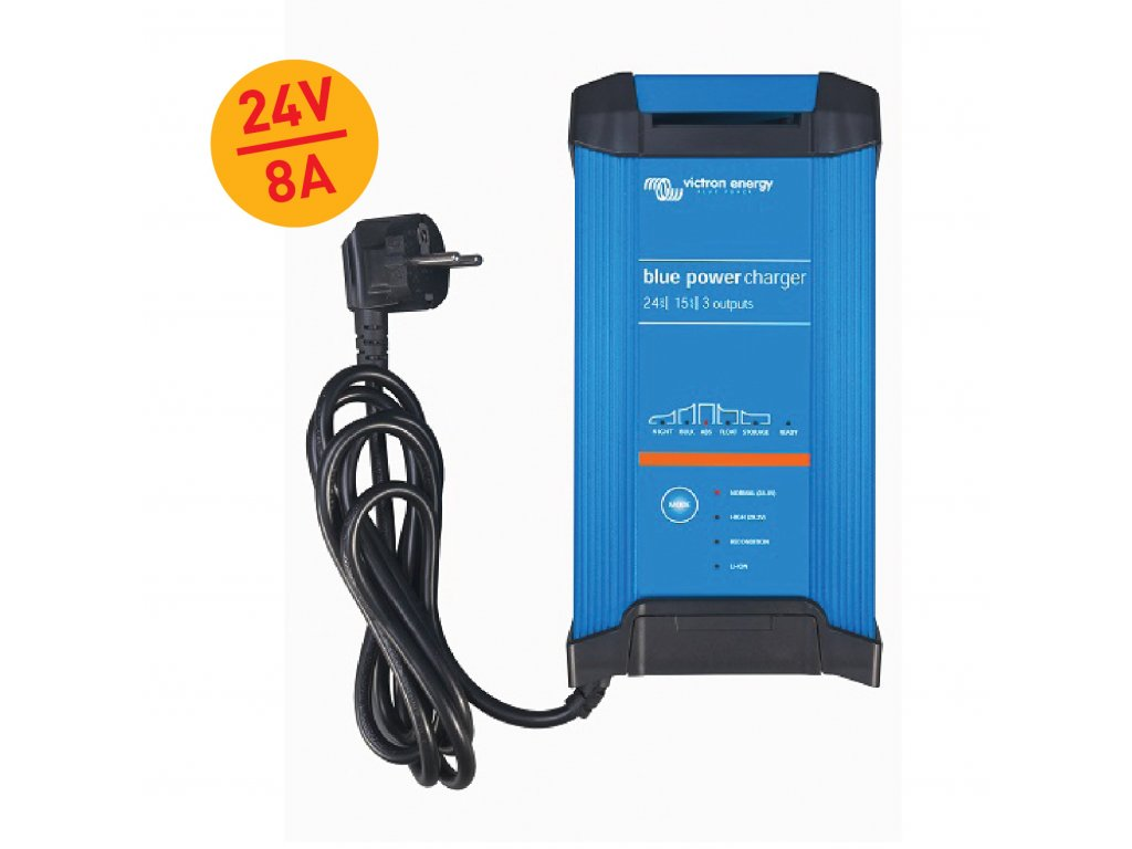 Chytrá nabíječka baterií BlueSmart 24V/8A (1) IP22