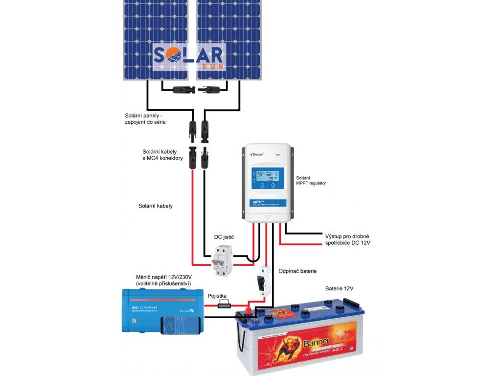 ostrovni solarni sestava 560 wp ulicasolar
