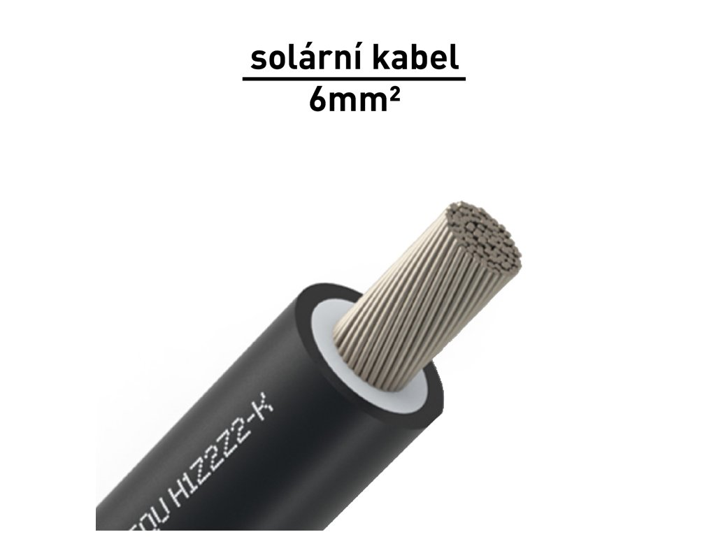 solarni kabel 6mm cerny