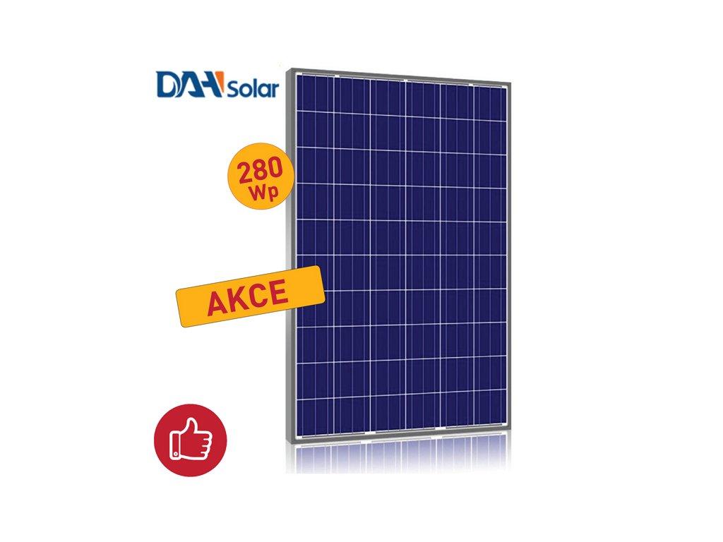 solarni panel polykrystalicky DAH 280wp 2