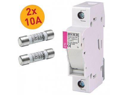 bateriovy odpinac 10A 2x pojistka