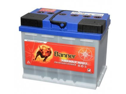 trakcni baterie banner energy bull 955 01 60ah 12v 95501