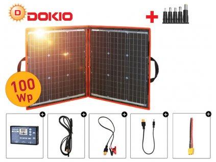 dokio solarni system 100 wp skladaci new