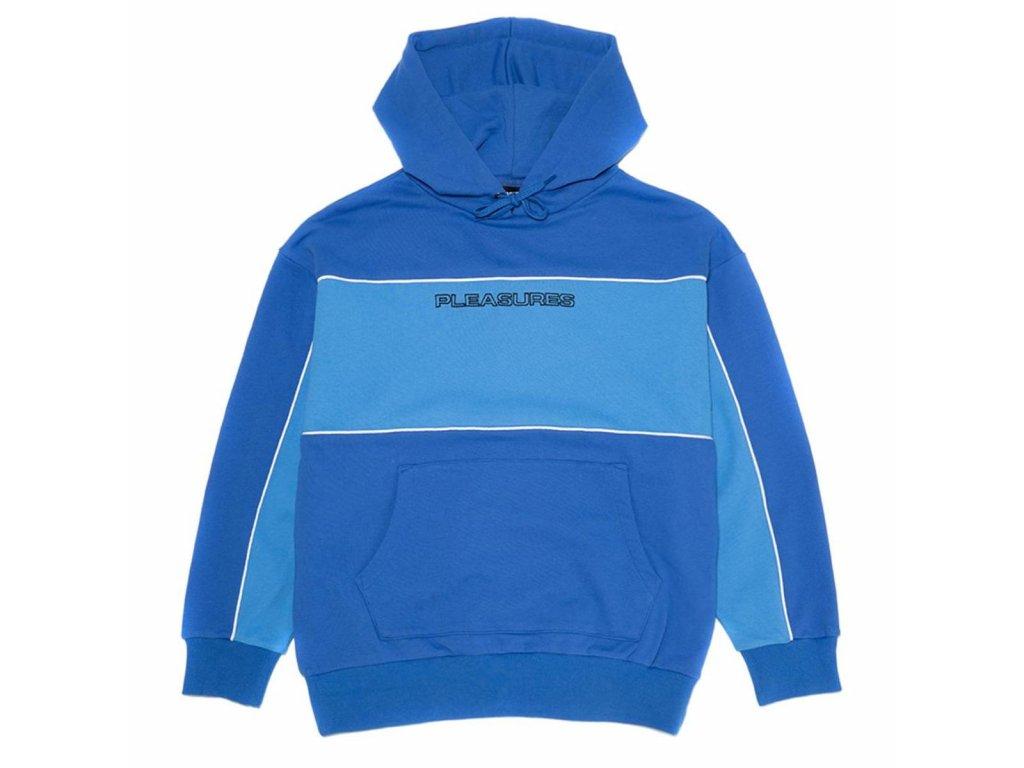 Pleasures Moto Pullover Hoodie Blue 20200317204855