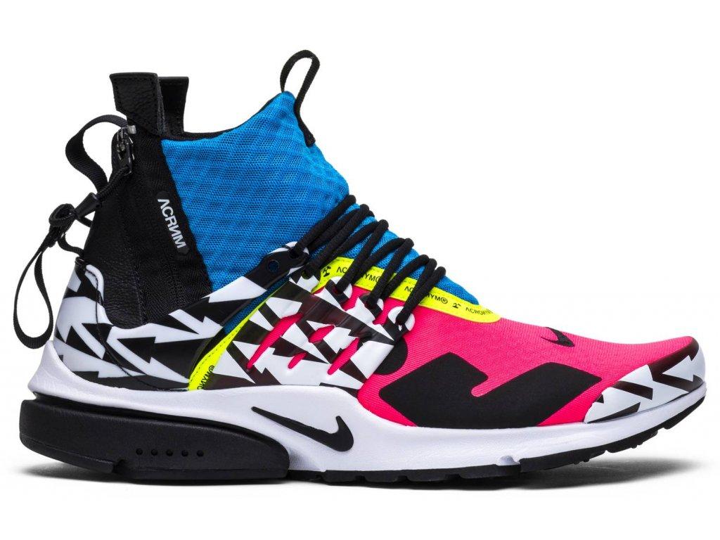 "Nike x Acronym Air Presto Mid ""Racer Pink"""