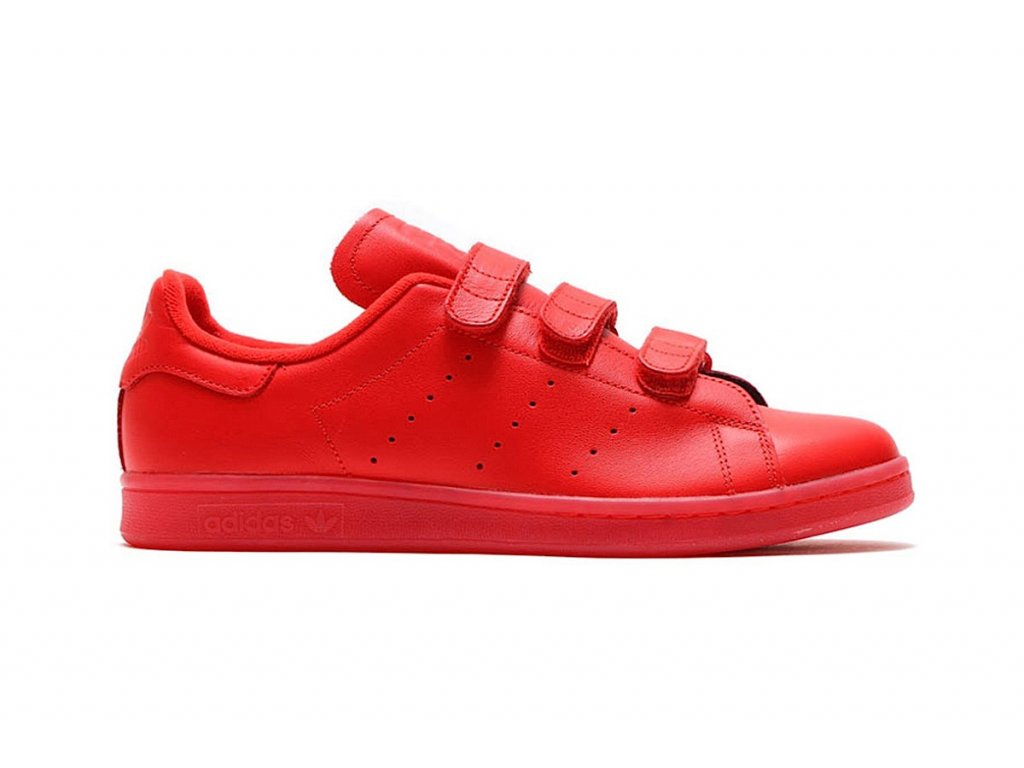 adidas red stan smith cf 1